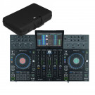 Denon DJ PRIME 4 & UDG Creator U8310BL Hardcase Bundle