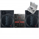 Technics SL 1210 MK7 Pair + Numark Scratch with Cartridges