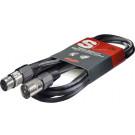 STAGG SMC3 3M XLR (male) -XLR (female) Microphone Cable