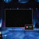 LEDJ PRO 6 x 3m Tri LED Black Starcloth System (STAR12)