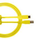 UDG USB Cable C-B 1.5m Yellow U96001YL