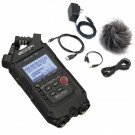 Zoom H4n PRO Black Handy Recorder + Accessory Pack