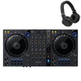 DDJ-FLX6 + HDJ-CUE1 Headphones