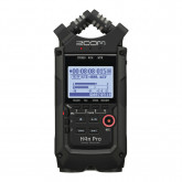 Zoom H4n PRO Portable 4-Track Recorder Black