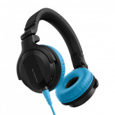 Pioneer DJ HDJ-CUE1 Headphones with Blue Accessory Pack