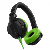 Pioneer DJ HDJ-CUE1 Headphones with Green Accessory Pack