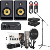 Rode NT1A Ultimate Vocal Recording Pack with Rokit 7 G4
