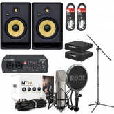 Rode NT1A Ultimate Vocal Recording Pack with Rokit 8 G4