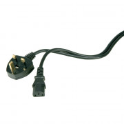 View and buy AVSL IEC UK Mains Power Lead - Fused 10A, 3.5 Metre - UK Kettle Lead (109012) online