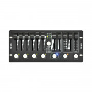 View and buy QTX Mini DMX PAR Controller (154097) online