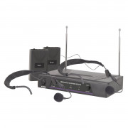 View and buy SKYTRONICS VN2 Dual Neckband Microphone VHF Wireless System (171818) online
