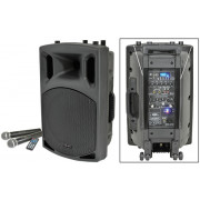 View and buy QTX QX15PA portable powered PA Speaker with Bluetooth (178856) online