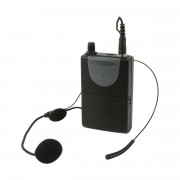 View and buy QTX Neckband Mic + Beltpack for QRPA & QXPA - 175.0Mhz (178892) online