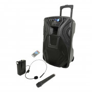 View and buy QTX Busker 12U Portable PA System (178966) online