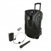 View and buy QTX Busker 15U Portable PA System (178968) online