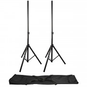View and buy QTX Speaker Stand Set With Bag (180555) online