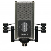 View and buy Sontronics Delta 2 Phantom Powered Ribbon Microphone online