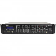 View and buy Adastra RM406 100V Mixer Amplifier 6 x 40W + USB/SD/FM/Bluetooth (953160) online