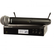 View and buy SHURE SM58 Wireless Rack Mountable Vocal System (BLX24RUK/SM58) online