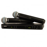 View and buy SHURE Twin Beta 58A Wireless Analogue Vocal System (BLX288UK/B58) online