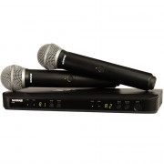 View and buy SHURE Twin PG58 Wireless Vocal System (BLX288UK/PG58) online