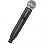 View and buy SHURE SM58 Capsule with GLXD2 Handheld Transmitter online