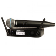 Buy the SHURE Beta 58A Digital Wireless Handheld Vocal System (GLXD24UK/B58A)  online