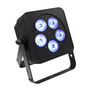 View and buy LEDJ Slimline 5Q5 RGBW LED PAR in Black ( LEDJ58 ) online