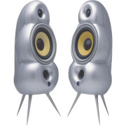 View and buy SEFOUR MP002 Scandyna(Silver)minipod Speakers (Pair) online