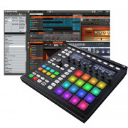 View and buy NATIVE INSTRUMENTS MASCHINE MK2 Groove Production Studio - Black online