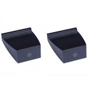 View and buy ADAM A5 Desktop Monitor Stands (Pair) - Black online