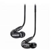 View and buy SHURE SE215 Sound Isolating Earphones - Black  online