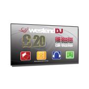 View and buy WESTENDDJ VOUCHER-WEDJ-£20 online