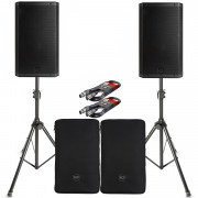 View and buy RCF ART 915-A Pair with Covers, Stands & Cables online