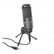 View and buy Audio Technica AT2020USB Plus Cardioid Condenser USB Microphone online