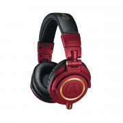 View and buy Audio Technica ATH-M50x Red Studio Monitor Headphones online