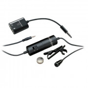 View and buy Audio Technica ATR3350iS Condenser Lavalier Microphone with Smartphone Adapter online