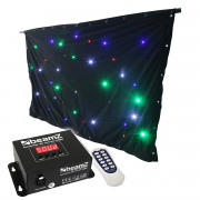 View and buy BeamZ Sparklewall LED96 RGBW 3m x 2m with Controller online