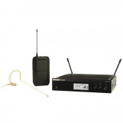 View and buy Shure SM Wireless Rack-Mount System With MX153 Earset Mic (BLX14UK-MX53) online
