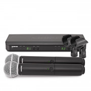 View and buy Shure BLX288UK/SM58-K3E Dual Handheld Wireless Microphone System online