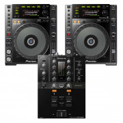 View and buy Pioneer 2 x CDJ850K + DJM-250MK2 Bundle online