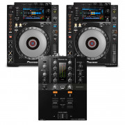 View and buy Pioneer 2 x CDJ900 NEXUS + DJM-250MK2 Bundle online
