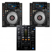 View and buy Pioneer 2 x CDJ900 NEXUS + DJM450 CD Player / Mixer Bundle online