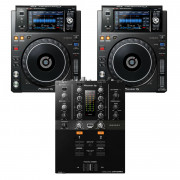View and buy Pioneer XDJ1000MK2 + DJM-250MK2 Bundle online