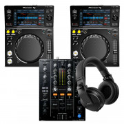 View and buy Pioneer 2 x XDJ700 + DJM450 + HDJ-X5K Bundle online