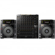 View and buy Pioneer CDJ850K + DJM-V10 Package online