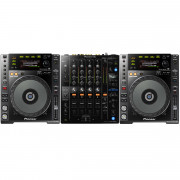 View and buy Pioneer DJ CDJ850K + DJM750 Mk2 Bundle online