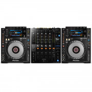View and buy Pioneer DJ 2 x CDJ900 NEXUS + DJM750 Mk2 Bundle online