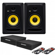 View and buy KRK Rokit Classic 7 Pair with XLR Cables & Isolation Pads online