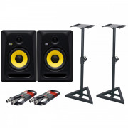 View and buy KRK Rokit Classic 7 Pair with Stands & Cables online